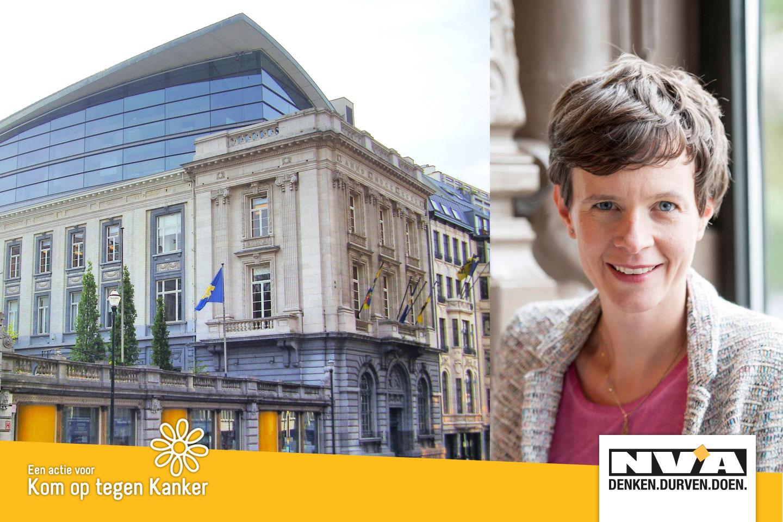 Ontdek het Brussels parlement met Cieltje Van Achter