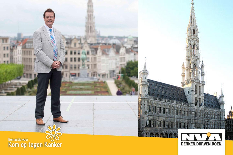 Johan Van den Driessche gidst je door het Brussels stadhuis (sappige politieke verhalen inbegrepen)