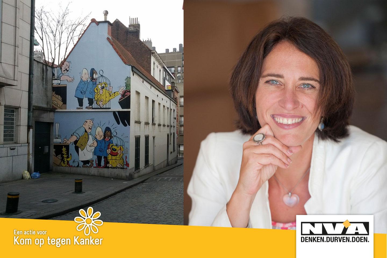 Verken met Liesbet Dhaene de oudste volksbuurt van Brussel, de Marollen