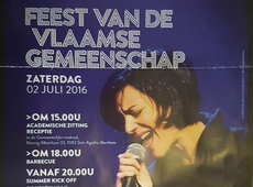 Feest van de Vlaamse Gemeenschap in Sint-Agatha-Berchem op 2 Juli