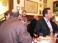 Gezamenlijk N-VA café van de afdelingen Elsene, Etterbeek, Woluwes en Sint-Joost-ten-Node